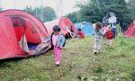 Dix-neuf familles ont trouvé un refuge précaire sur un terrain de la communauté urbaine de Lille, à Villeneuve d'Ascq (Nord Eclair, août2010)