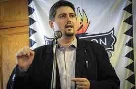 Csanád Szegedi en 2009, membre du parti Jobbik