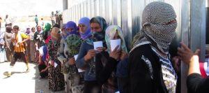 Des femmes yézidis ont été réduites à l'esclavage par les djihadistes de l'EI (photo Afp)