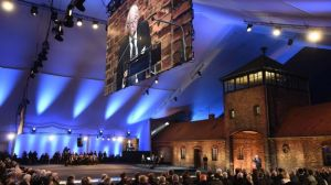 Commémoration du 70e anniversaire de la libération d'Auschwitz par l'Armée rouge (ODD ANDERSEN - BELGAIMAGE)