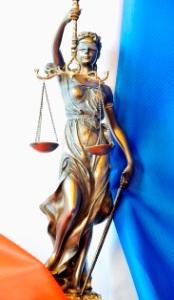 Statue allégorique de la justice. Chancellerie